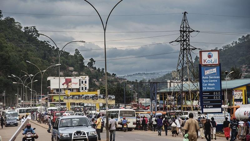 Driving in Rwanda